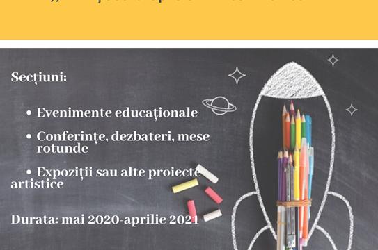 """Concurs de proiecte educaționale """"Prin școală spre un viitor mai bun!"""""""